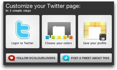 Personaliza tu fondo de Twitter con Themeleon