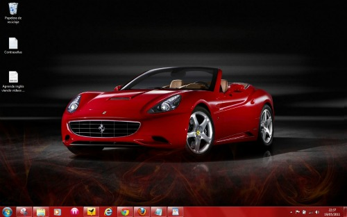 theme ferrari windows 7