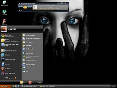 tema oscuro para windows xp