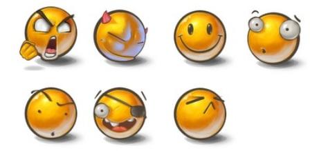 emoticones yolks