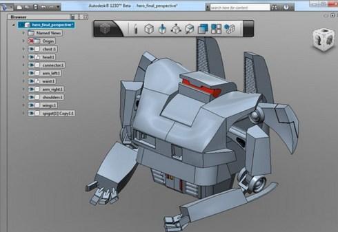 Autodesk 123D software de modelado