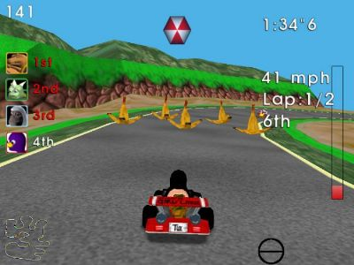Descargar SuperTuxKart, juego tipo Mario Kart para tu PC gratis