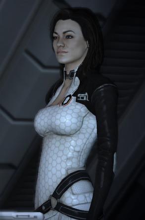 1- Miranda Lawson (Mass Effect)