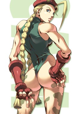 10 Cammy (Street Fighter)