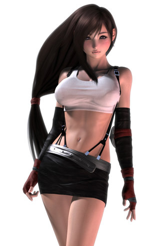 4- Tifa Lockhart (Final Fantasy VII)