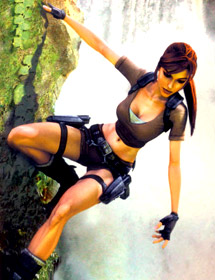 6- Lara Croft (Tomb Raider)