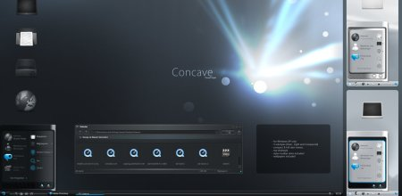 Tema concave vs para windows xp
