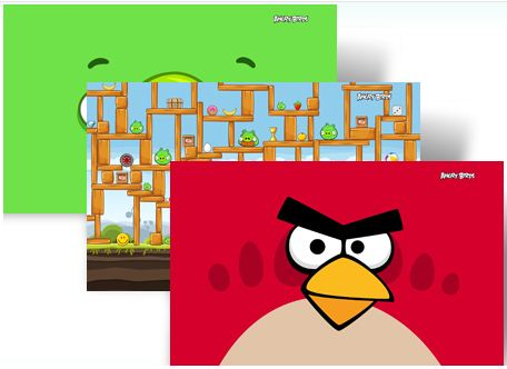 Genial tema de Angry Birds para Windows 7