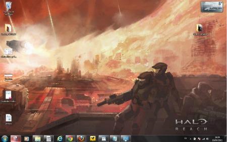 Tema oficial de Halo: Reach para Windows 7