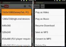 Descargar videos de YouTube en celulares Android con TubeMate