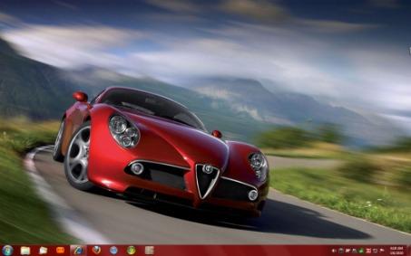 Excelentes temas de coches para Windows 7