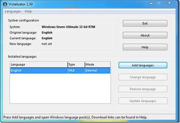 cambiar idioma windows 7
