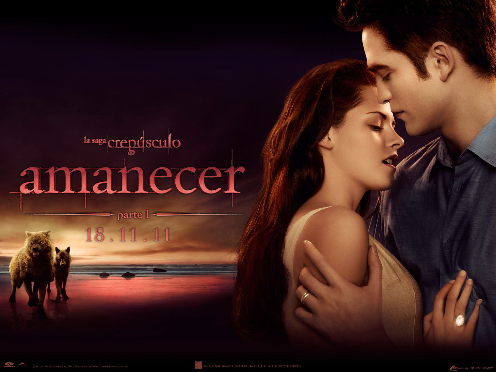 Wallpapers HD de Breaking Dawn – Crepusculo Amanecer