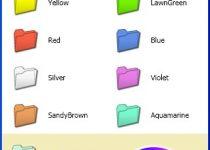 cambiar color de carpetas