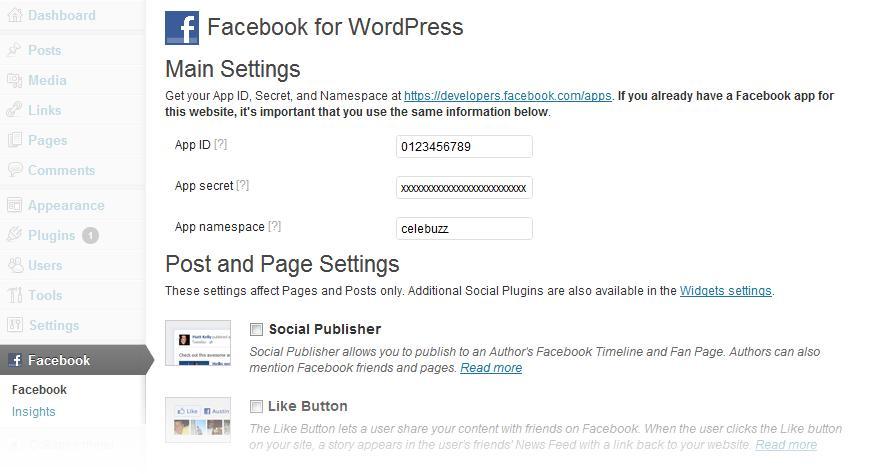 Plugin Oficial WordPress