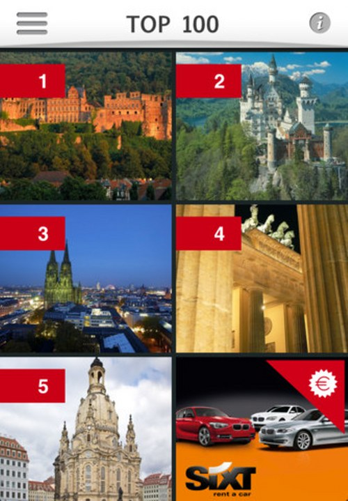 top 100 germany sights