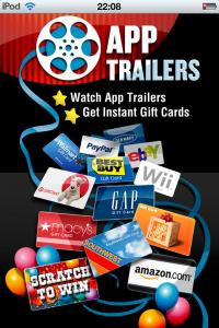 App trailers en un iPod