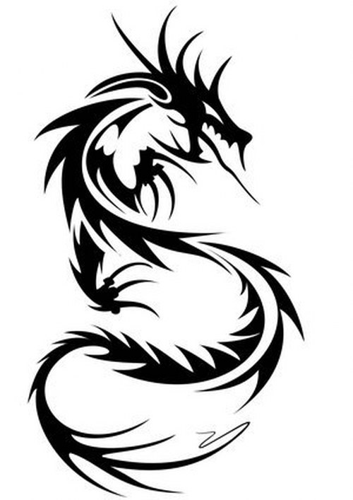 Tribal Dragon