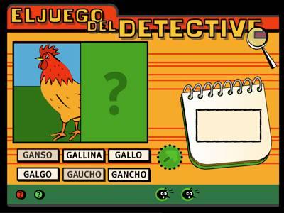 Juego Detective 1.0: Descubre y reconoce objetos ocultos