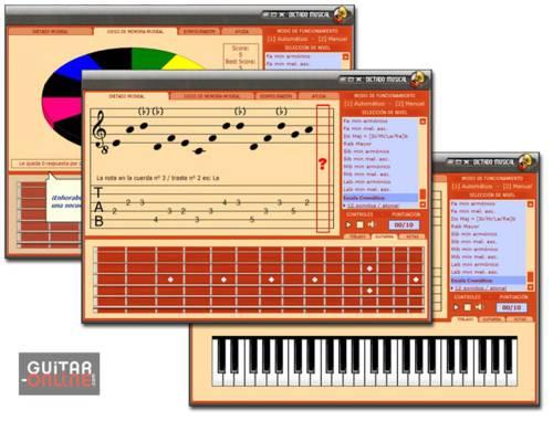 Dictado & memoria musical: Programa que mejorar nuestra capacidad para reconocer distintas notas