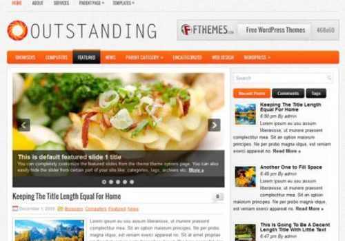 Excepcional: Tema gratis para Wordpress