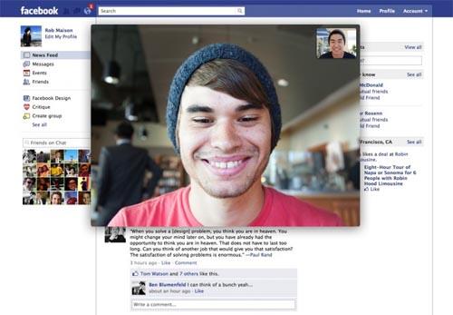 Facebook Video Calling: Videoconferencias en Facebook