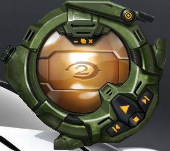 Halo 2 Skin media player