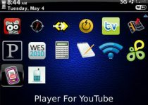 Player For YouTube blackberry