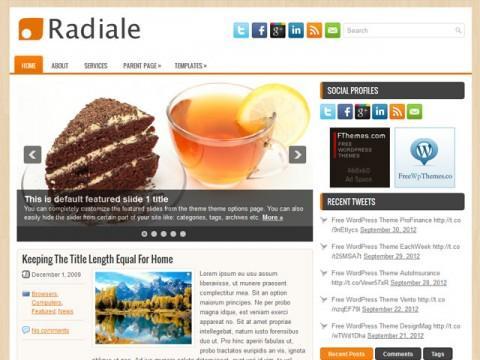 Radiale: Un tema nuevo para blog estilo magazine