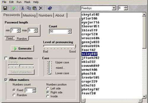 Random Password Generator: Genera hasta cien contraseñas aleatorias