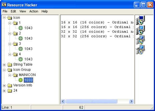Resource Hacker: Extrae, añade y modifica los ejecutables