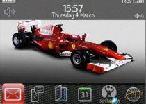 Viste tu BlackBerry con los colores de la escudería Ferrari