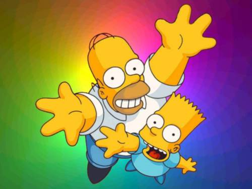 The Simpsons 20 Years Wallpaper: Los 20 años de la familia Simpson como fondo de pantalla