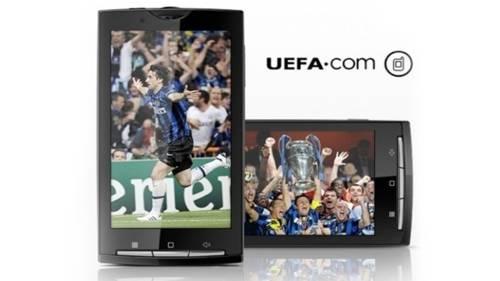 UEFA.com móvil: Todo el fútbol europeo, con la garantía UEFA