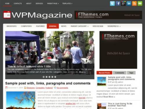 WPMagazine: Uno de los mejores temas para blog en Wordpress | Net9k