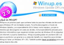 WinUp es un práctico pack