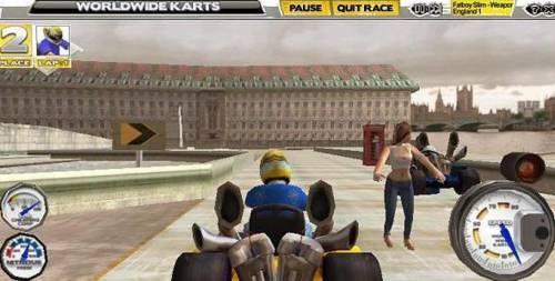 WorldWide Karts: Increíble juego de carrera en 3D