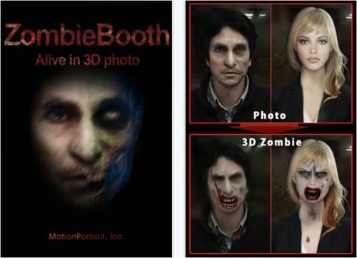 ZombieBooth: Crea monstruosa foto en 3D de tus amigos