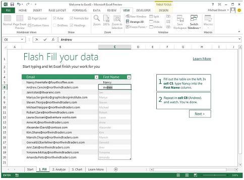 Excel 2013: Disfruta del nuevo Excel 2012