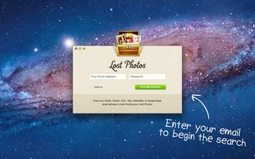 Lost Photos: Recupera fotos perdidas de tu correo electrónico
