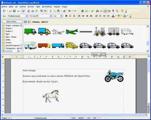 OxygenOffice Professional: Versión alternativa de OpenOffice