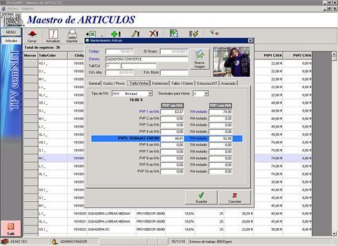 TPVcomNET comercio: Controla las ventas diarias de tu negocio