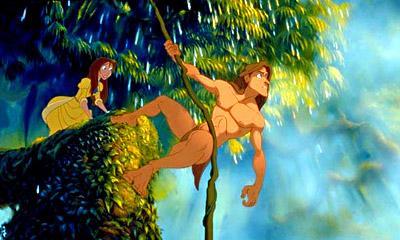 Tarzan: Tarzán debe salvar la flora local con su micción