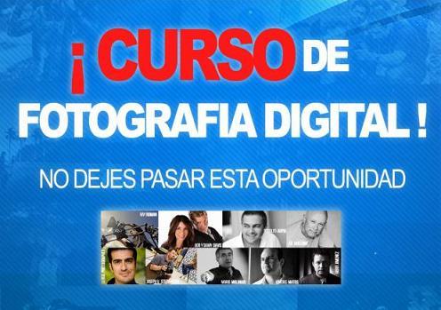 Curso de Fotografía Digital: Conviértete en un genio en fotografía digital