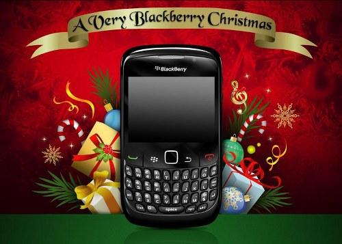 blackberry xmas