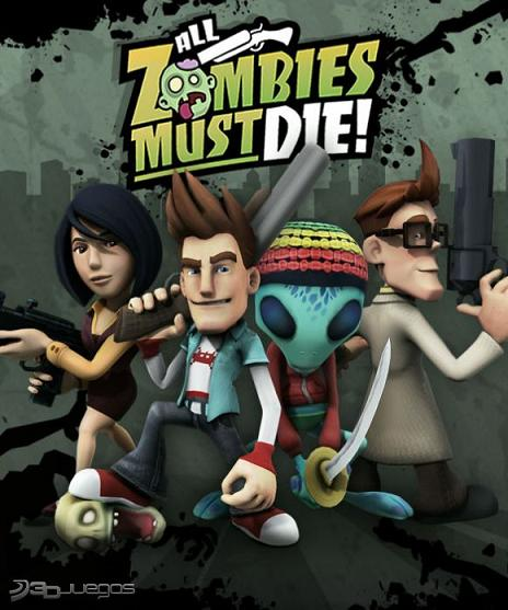 All Zombies Must Die!: Diviértete con este juego matando zombies