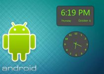 Android Clock Pack: Disfruta de este reloj al estilo Android en tu Escritorio