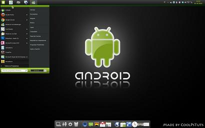 Android Skin Pack: Completo pack de transformación para Windows 7