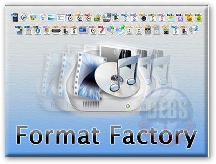 Format Factory Portable: Convierte archivos multimedia al instante