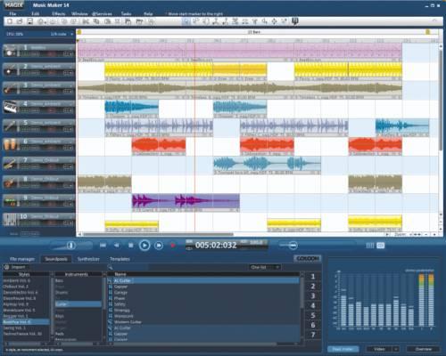 MAGIX Music Maker: Disfruta de un estudio de grabación en casa